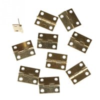 Wholesale High Quality Door Butt Hinge Mini Iron Hinges Cabinet Drawer