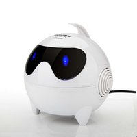 Wholesale New Mini Lights Cute Catoon USB Wired Subwoofer Audio Speaker For Laptop Desktop With mm Interface BOAI S1