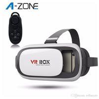 active videos - VR BOX II D Glasses Bluetooth Remote Virtual Google Cardboard Video Glass Smart Bluetooth Wireless Remote Control Gamepad
