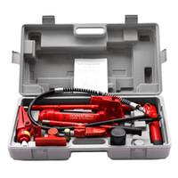 air hydraulic lift - Hydraulic Jack Repair Tool Kit Set Air Pump Lift Ton Portal Power Ram