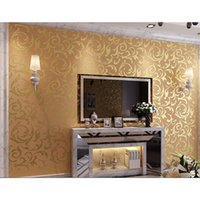 baroque wallpaper - 3d wallpaperEmbossed Texture Glitter Baroque Damask Featured Vintage Blue Wallpaper Wall Covering Wall Paperadesivo de parede