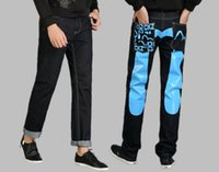 Wholesale men s jeans In four seasons fashion cowboy style brand high quality jeans CHUANGUZHE famous designer JD04