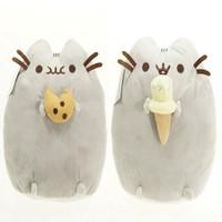 best comfort fashion - 2016 Kawaii Brinquedos New Cat Pusheen Cookie Icecream Stuffed Plush Animals Toys Best Gift for chiildren
