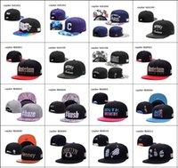 Revisiones Gorras de bola-sombrero nuevo las tapas de fútbol de tamaño ajustable Snapbacks Bola Sombreros Moda Calle Accesorio de cabeza al por mayor de encargo Cayler Sons caen calidad superior del envío