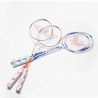 Wholesale Best Aluminum Alloy Badminton Rackets Sport Dexterous for Women Durable Carbon Fibre One piece Badminton Rackets for Men HK
