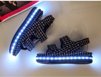 baby bronze shoes - 2016 New Fashion Women Summer Sandals Led Shoes Light Shoes Classics Style Baby Beach Shoes Size