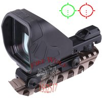 big dot sights - 2016 New Tactical Reticle Big Green Red Dot Sight Rifle Scope with mm Gun Mount Black