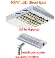 Wholesale 100W LED Street Light street road garden lamp tunnel flood light match pole adapter Meanwell driver UL SAA CE years warranty
