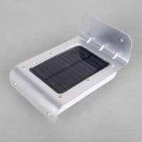 Wholesale TOOGOO R LED Solar Motion Detection Sensor Light Waterproof Wall Garden Lamp