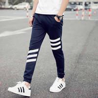 Wholesale New Fashion Plus Size Men Pants Fit Cotton jogger pants summer style Sweatpants Men s Trousers Sport Pants M XL khaki cargo
