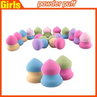 Wholesale Makeup Sponges Puff Flawless Powder Smooth Beauty Make Up Tool Makeup Foundation Sponge women Sponges DHL free