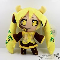 banana costume - Japanese Anime cm Hatsune Miku Banana Miku Plush Toy Cosplay Costume Soft Stuffed Doll Gift Retail
