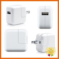 Wholesale iPad V A USB Power Charging Adapter Wall Charger for iPad mini Air iPhone