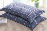 Wholesale 2pc Bedding Standard cotton Pillow Case pillow cases pillow cover many Colors good quality A2