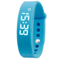 Wholesale Sport Watch Thermometer - Smart Bracelet W5 Sport Tracking Calorie Alarm Sleeping Monitoring Pedometer Thermometer Wristband Smart Reminder Step Gauge Watches