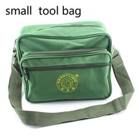 Wholesale Small Tool Bag Shoulder Canvas Repair Kit belt bag for tools toolbox repair kit tools pocket