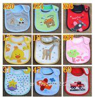 baby boy napkins - Baby Infants Girl Boy Lunch Bibs Napkin Saliva Towel Cotton Cartoon Waterproof