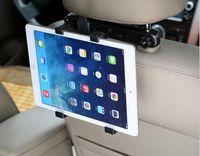 android tablet car mount - 500pcs Car Back Seat Headrest Mount Adjustable Holder For iPad Tablet PC Stand Android Tablet Holder Windshield Rotating Bracket