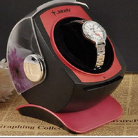 Wholesale Jebely Single Watch Winder for Automatic Mechanicals Bright JA083 Red