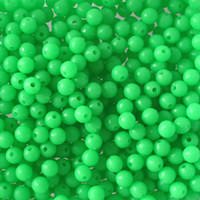 Wholesale Various sizes Fishing luminous beads round oval Shaped Terminal Fishing Accessories Floating Plastic Multicolor Fishing Beads