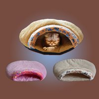 Wholesale Hot Pet Dog Cat Warm Soft House Nest Bed Sleeping Bag Cave Mat Pad Kennel Blanket Cushion