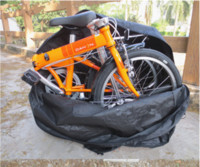 Wholesale Cheap New Soft Bike Transport Bag Travel MTB Carry Case Bicycle Cycling luggage folding bike Purses Black