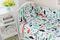 baby crib decorations - Baby crib bedding set cotton bedclothes bed decoration include pillow bumpers mattress