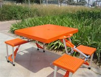 Wholesale Outdoor Folding portable camping dining table Beach Tables