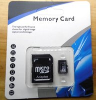 Wholesale New arrived Memory Card GB GB GB GB no brand Micr SD Card MicroSD TF C10 Flash SDHC SD Adapter SDXC Retail Package micro sd card