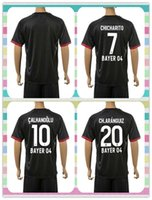 bender shirts - New Product Uniforms Kit Bayer Leverkusen Hernandez Bender Calhanoglu Kiessling Black Away Soccer Jersey full shirt
