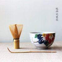 Wholesale Matcha Tea Gift Set Matcha Bowl Chasen and Chashaku Japan set to Tea Ceremony Teawares Japanese