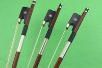 8pcs NOUVEAU PRO arc supérieur de violoncelle de Brésil bois 4/4 grenouille d'ébène pleine grandeur