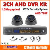 Wholesale Promotion CH AHD CCTV System Channel AHD DVR Surveillance p MP cctv AHD Dome camera indoor Security Camera System