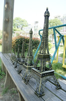 metal ornaments - Wedding table Centerpieces favor paris Eiffel Tower model Alloy Eiffel Tower home Metal craft ornament wedding decoration supplies