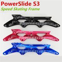 alloy wheel base - PowerSlide PS S3 Inline Speed Skating Frame for Pieces mm mm mm Skates Wheels X7000 series Aluminum Alloy Base Frame