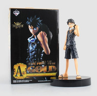 Wholesale 2016 One Piece Monkey D Luffy cm Hot items japan anime figures Heroes PVC Action Figure Collectible Model Toy set toys collection gift