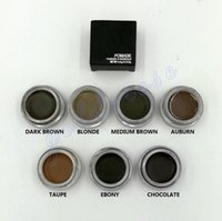 Wholesale New Ana DIPBRO Pomade Medium Brown Waterproof Makeup Eyebrow Blonde Chocolate Dark Brown Ebony Auburn Medium Brown TALPE DHL Free