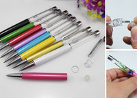 Wholesale Crystal Gem Pen DIY Rice Jewelry Pen