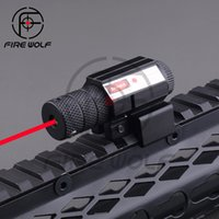 aluminum rifle - 5mW Powerful Tactical Red Dot Laser Sight Aluminum Laser Sight Scope Set for Rifle Pistol Shot