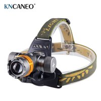 Wholesale Headlight Lumens XM L T6 LED Headlamp Head Lamp Light T6 Outdoor Lanterna frontal led