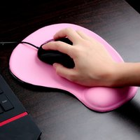 Wholesale Lightweight Thick Solid Irregular Shape Design Mouse Pad Mice Mat with Soft Comfy Wrist Rest for Computer PC Laptop Computer Accessories