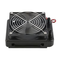 Wholesale 2016 Newest mm Water Cooling CPU Cooler Row Heat Exchanger Radiator with Fan for PC