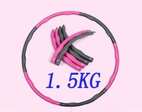 Wholesale KG Dia cm hula hoop parts waist workout for Beginner freeshipping