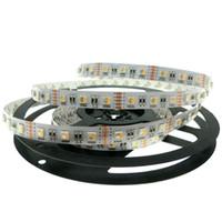 Wholesale 24v V RGBW LED Strip Flexible LED Light RGW RGBWW color in LED Chip LED m m