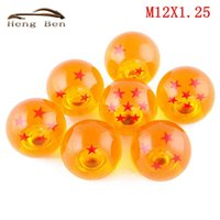 Wholesale HB New Style Dragon Ball Z rare Custom Gear Shift Knob mm Diameter Star Acrylic mm x Threaded Shifters