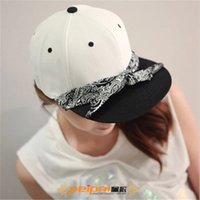baseball caps and scarves - European style cashew flowers scarf solid color Baseball Cap hip hop flat along the streets of the influx of men and women wild tide models