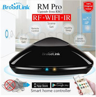 Wholesale New Broadlink RM Pro RM2 Universal Intelligent controller Smart home Automation WIFI IR RF Switch remote control For IOS android