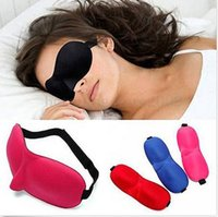 aids eye - New D Soft Aid Sleep Masks Padded Shade Patch Blinder Rest Travel kits Relax Sleeping Blindfold eye mask colorful holiday gift Vision Care