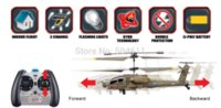 apache motor - Syma S109G Apache AH Channels Mini Indoor Helicopter RTF Cheap helicopter ch High Quality helicopter indoor