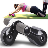 Wholesale new Folding abdominal wheel multifunctional AB wheel bearing roller of durable fitness necessary equipment called metrosexual man women ems